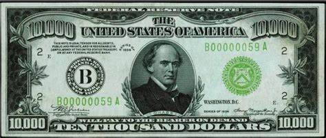 How Much Is a 1934 or 1928 $10,000 Bill Worth? | Sell Old ... $10000 Bill For Sale