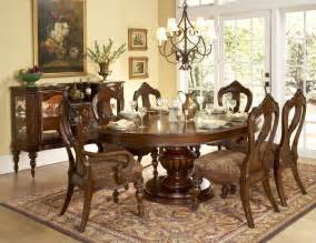 Formal Round Dining Room Sets by Worcester Oval To Round Formal Dining Room Table Sets