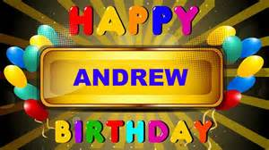 andrew animated cards happy birthday youtube