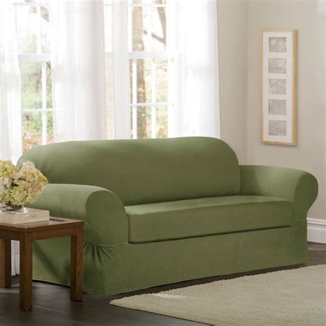 maytex collin 2 piece sofa slipcover 1000 ideas about loveseat slipcovers on pinterest