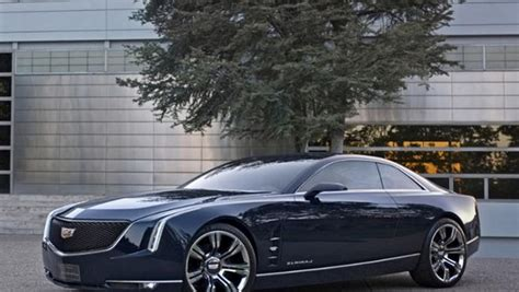 cadillac shows big two door coupe concept car cbs news