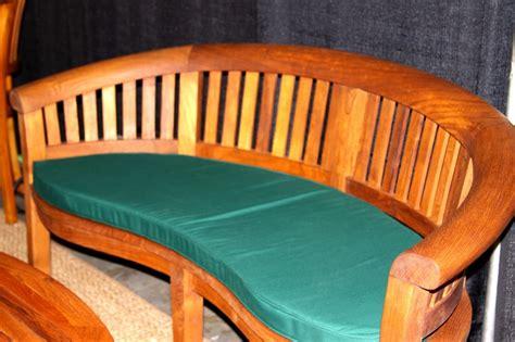 half moon chair cushions halfmoon bench cushion 7hm b 179 00 benchsmith