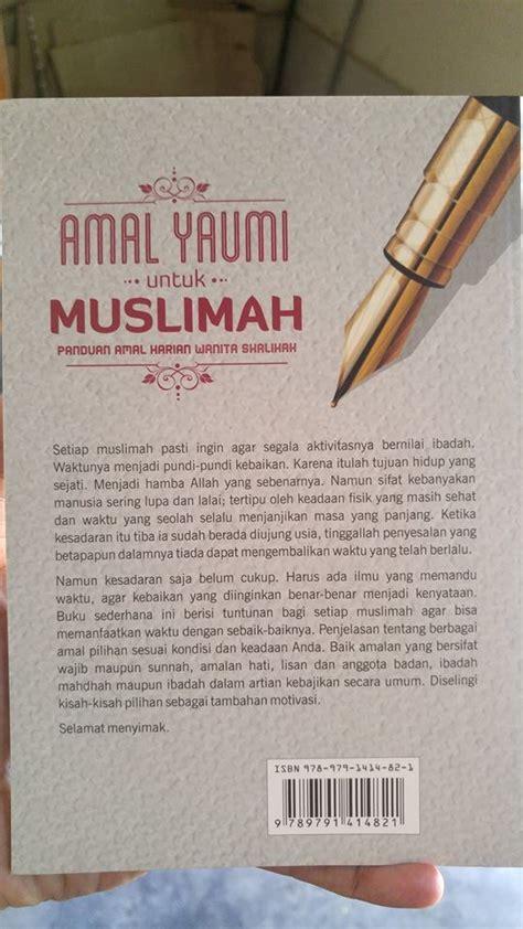 Doa Dzikir Yang Terangkat Ke Langit buku amal yaumi untuk muslimah toko muslim title