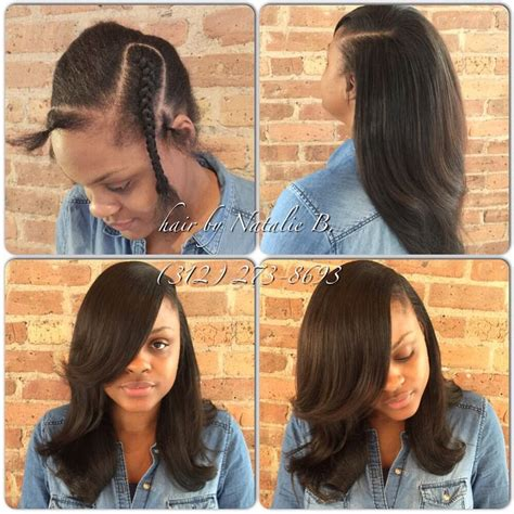 deep side bang weave pattern 1000 images about sew in hairstyles on pinterest sew