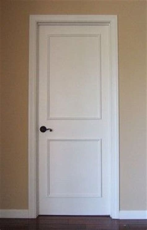 Two Panel Raised Door Moulding Kit Traditional Interior Doors Los Angeles