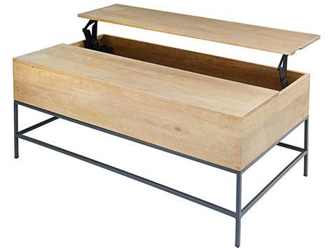 Table Basse Metal Et Bois 749 by Table Basse En Soldes 25 Mod 232 Les Canon Joli Place