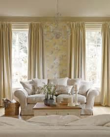 Awning Stripe Camomile Fabric Grey Cream And Fabrics Country Living Home Decor Catalog
