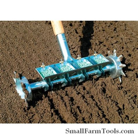 Row Seed Planter by Four Row Pinpoint Seeder