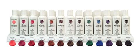 adore hair color in stores adore semi permanent hair rinses