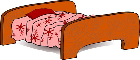 cartoon beds clipart bed