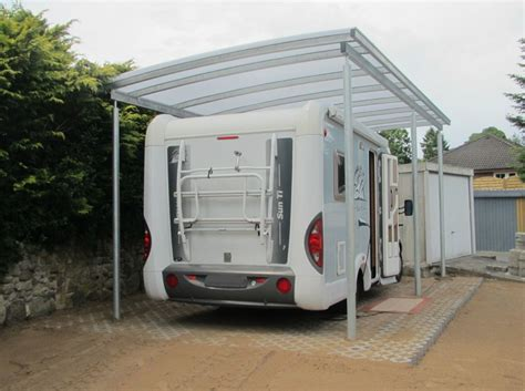 carport wohnwagen wohnmobil lieken metall design - Carport Wohnmobil