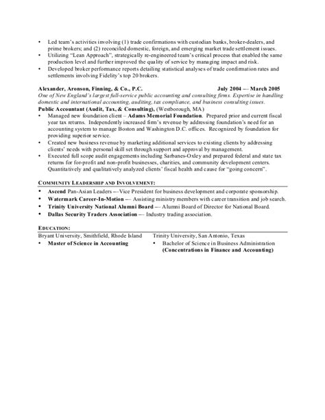 Institutional Trader Sle Resume by Cheng Linked In Resume Institutional Trading