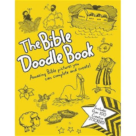 doodle god how to make book christian children s book review the bible doodle book