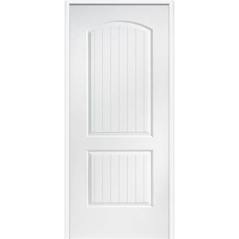 20 Interior Door Mmi Door 32 In X 80 In Smooth Cashal Left Primed Mdf 20 Min House To Garage