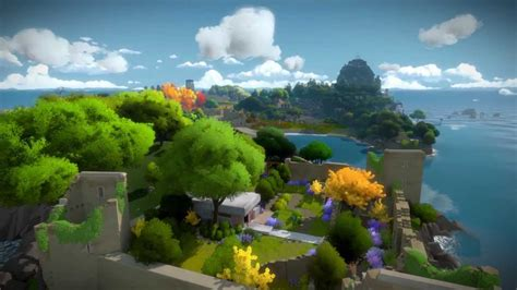 the witness the witness official gameplay trailer