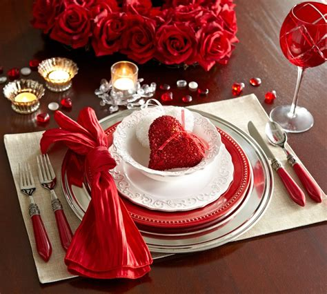 valentine s day table settings place setting dress up table for romantic dinner i e