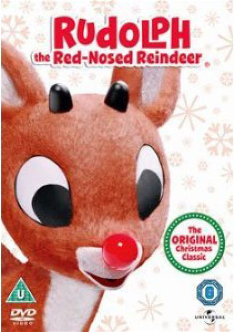 rudolph the red nosed reindeer dvd zavvi