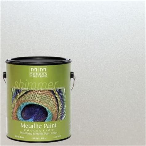 Pearl White Interior Paint by Modern Masters 1 Gal Pearl White Metallic Interior