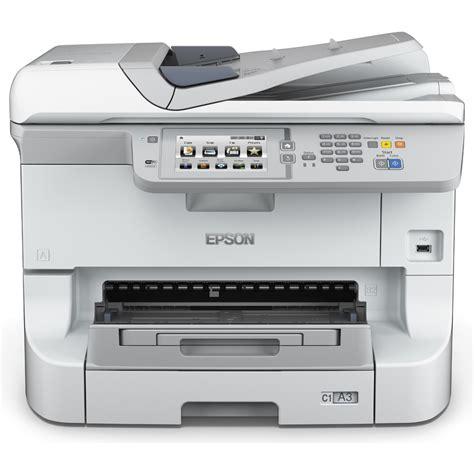 Printer Epson Plus Fotocopy epson workforce pro wf 8590dwf a3 colour multifunction inkjet printer c11cd45301by