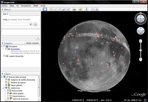 google imagenes de la luna google earth 5 0 ahora permite explorar la luna madboxpc com