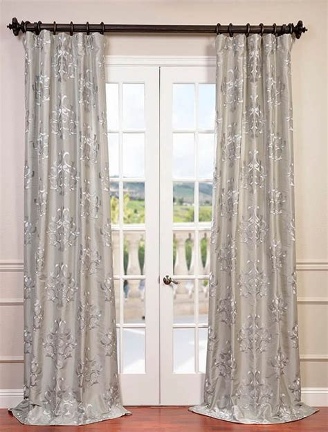 silver silk curtains the 25 best silver curtains ideas on pinterest black