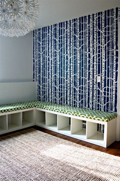 bookshelf into bench how to turn an ikea expedit bookcase into an upholstered
