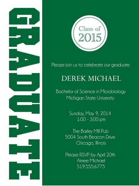 Graduate Graduation Party Invitations   Digital File DIY Printable Grad Announcement on Luulla