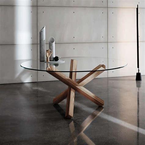 Beau Table Salle A Manger Ronde En Verre #3: table-verre-design-ronde-aikido-sovet.jpg