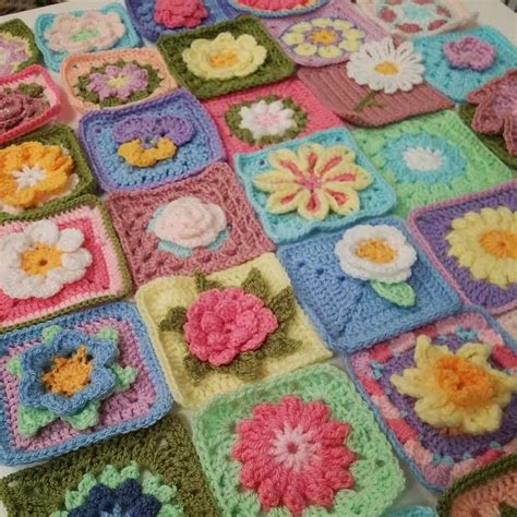 knitting pattern magic square rug the patchwork heart s community blanket squares all ready