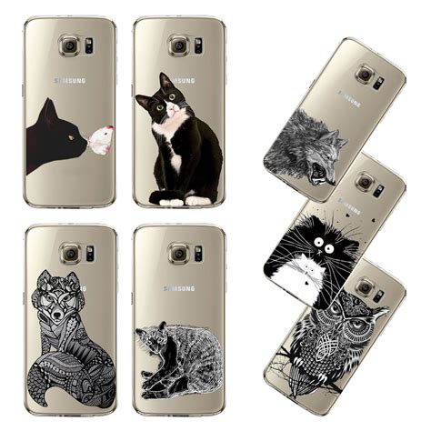 Fashion Ultrathin Collage For Apple Iphone 6 Silver ultra thin transparent soft black black white cat owl ᐅ eagle eagle cell phone back cover for