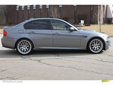 2011 M3 Sedan by Space Gray Metallic 2011 Bmw M3 Sedan Exterior Photo
