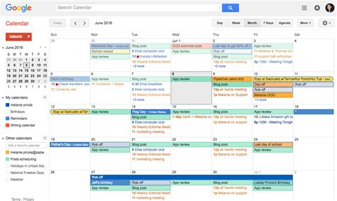 Google Marketing Calendar