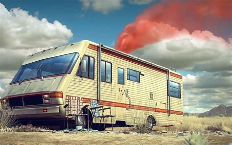 Rv In Breaking Bad breaking bad smoke rv wallpapers hd desktop and mobile
