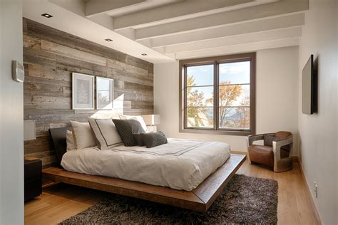 rustic bedroom barn wood wall ideas bedroom rustic with wall mounted tv