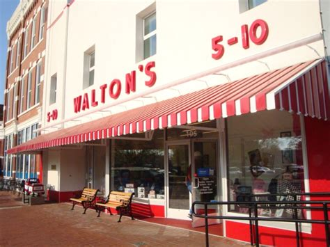 sam walton s first five and dime store in bentonville visit crystal bridges in bentonville but don t forget to