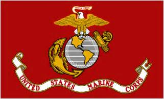 marine corps colors the history of the marine corps flag semper fi