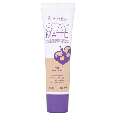 Rimmel Stay Matte rimmel stay matte liquid mousse foundation 30ml