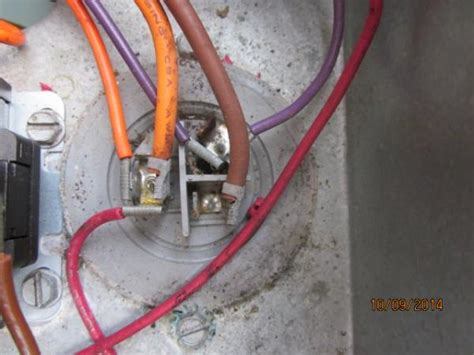 ac capacitor burnt wire rheem problem what should i check for need help doityourself community forums