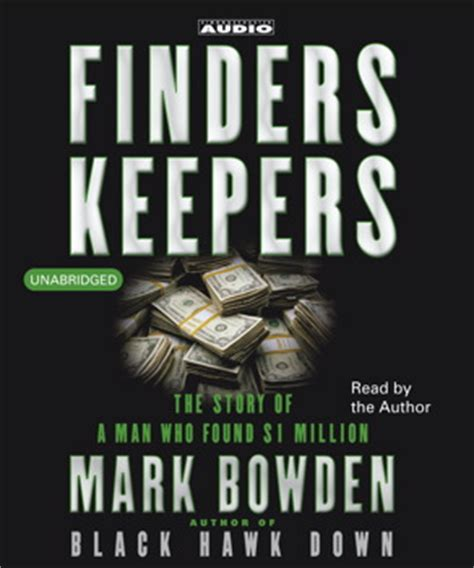 finders keepers books finders keepers audiobook by bowden official