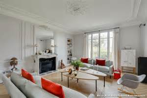 d 233 coration salon appartement haussmannien