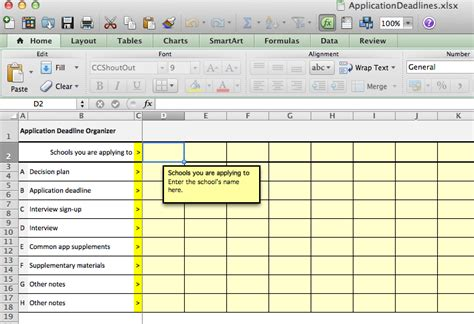 college application checklist template how to deal with college application deadlines part three