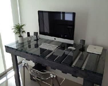 comment am駭ager un bureau am 233 nagement studio 233 tudiant avec des meubles en palettes
