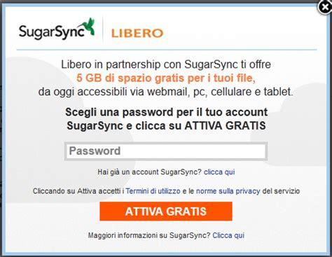 libero mail login mobile libero mail regala 5 gb di spazio cloud su sugarsync tom