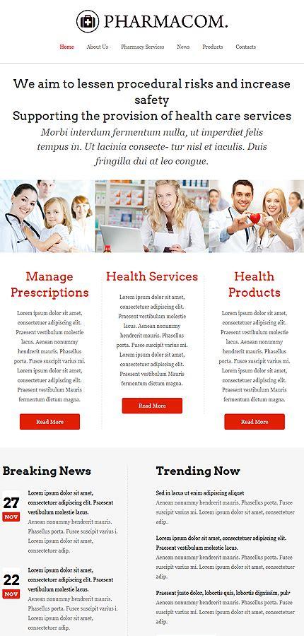 templates for pharmacy website pharmacy website template 52748