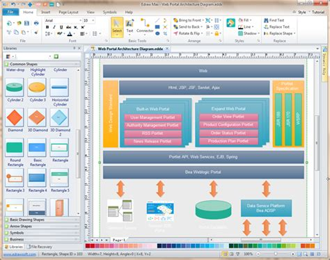 application architecture diagram tool software architecture diagramming tool