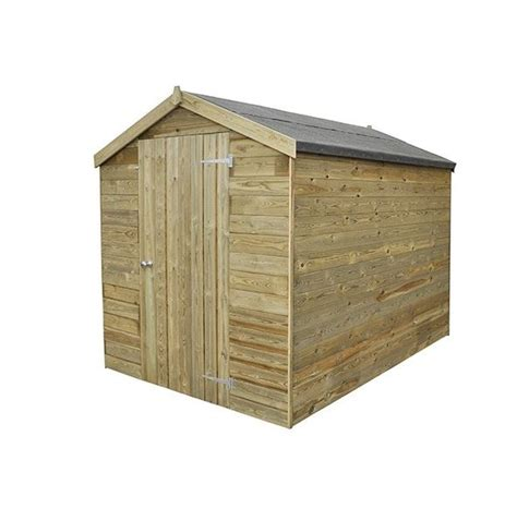 hartwood premium 8 x 6 fsc tongue and groove apex shed