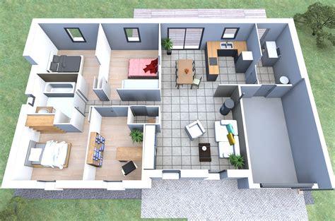 plan de maison moderne 100m2 wx27 jornalagora