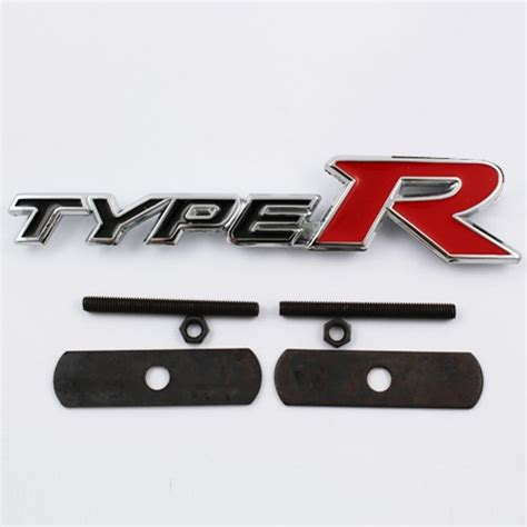 Emblem Type R type r grill emblem v spec auto accessories store