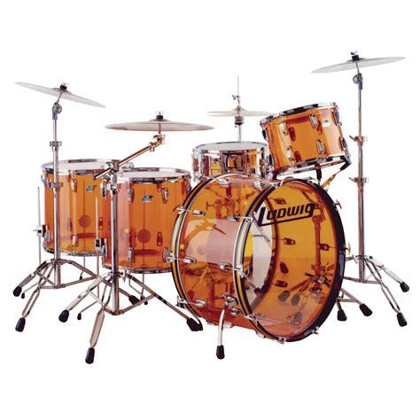 Drum Set ludwig vistalite zep set 5 drum set shell pack 26 quot bass 14 quot snare 14 16 18 quot toms