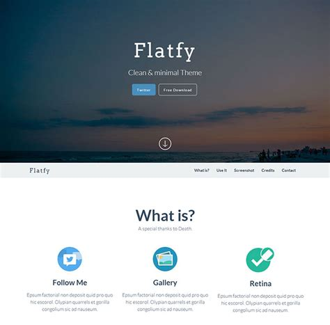 bootstrap theme free white 17 free responsive bootstrap html website templates web